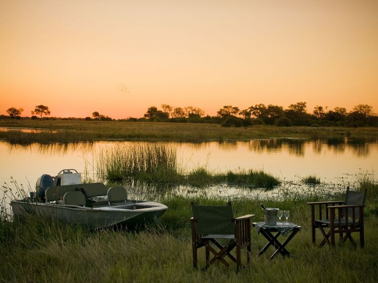 Selinda Spillway of Botswana