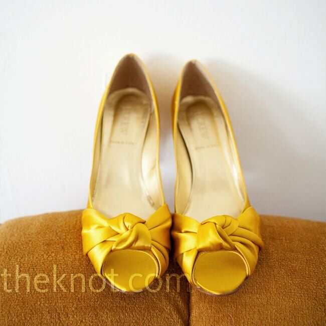 fb178de85d4132 Yellow Bridal Shoes