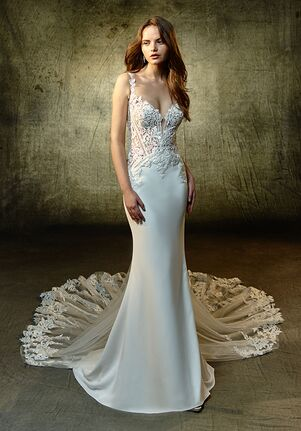 Blue by Enzoani Linda Mermaid Wedding Dress