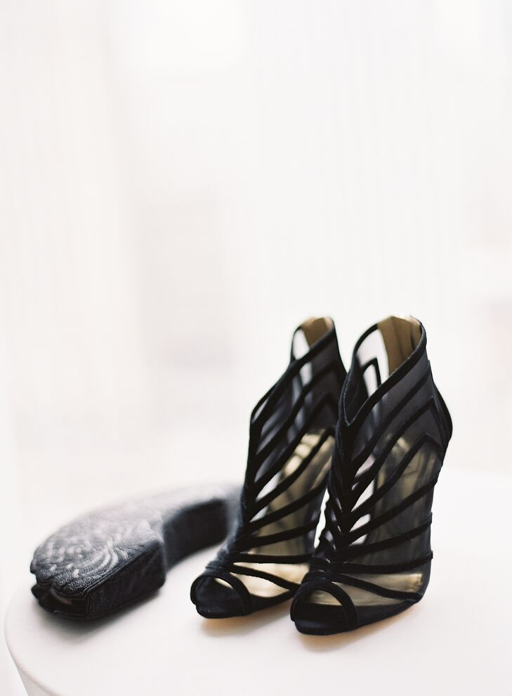 Strappy Black Ted Baker Shoes