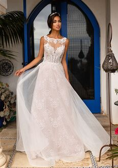 Moonlight Couture H1392 Mermaid Wedding Dress