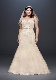 David's Bridal David's Bridal Style 9WG3909 Mermaid Wedding Dress