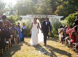 For their atypical destination wedding, Dawnyelle Prince (35 and an instructional math coach) and Barry Funches (39 and a lead industrial engineer) ho