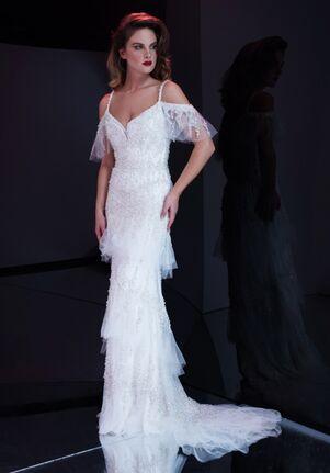 Stephen Yearick KSY157 Sheath Wedding Dress