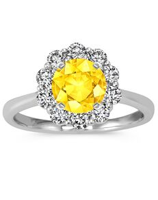 Shane Co. Classic Round Cut Engagement Ring