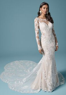 Maggie Sottero LYDIA ANNE Sheath Wedding Dress