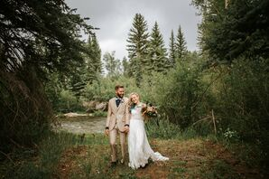 Couple in the Mountains of Heeney, Colorado