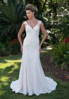 Pallas Athena PA9302N Mermaid Wedding Dress