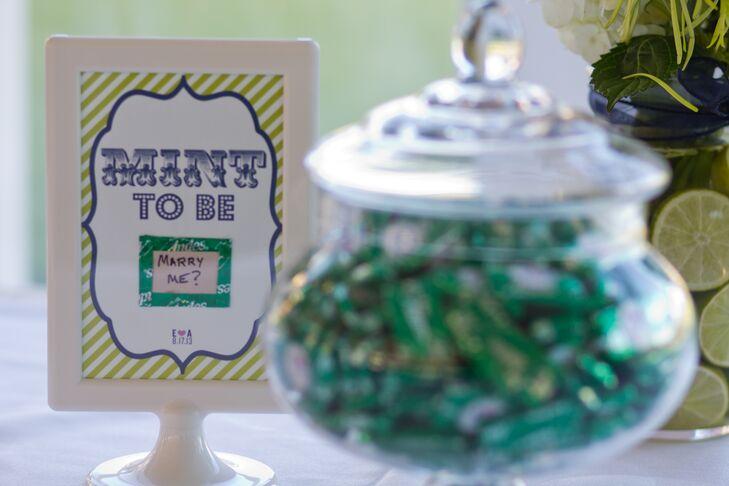 Jar of Green Candies