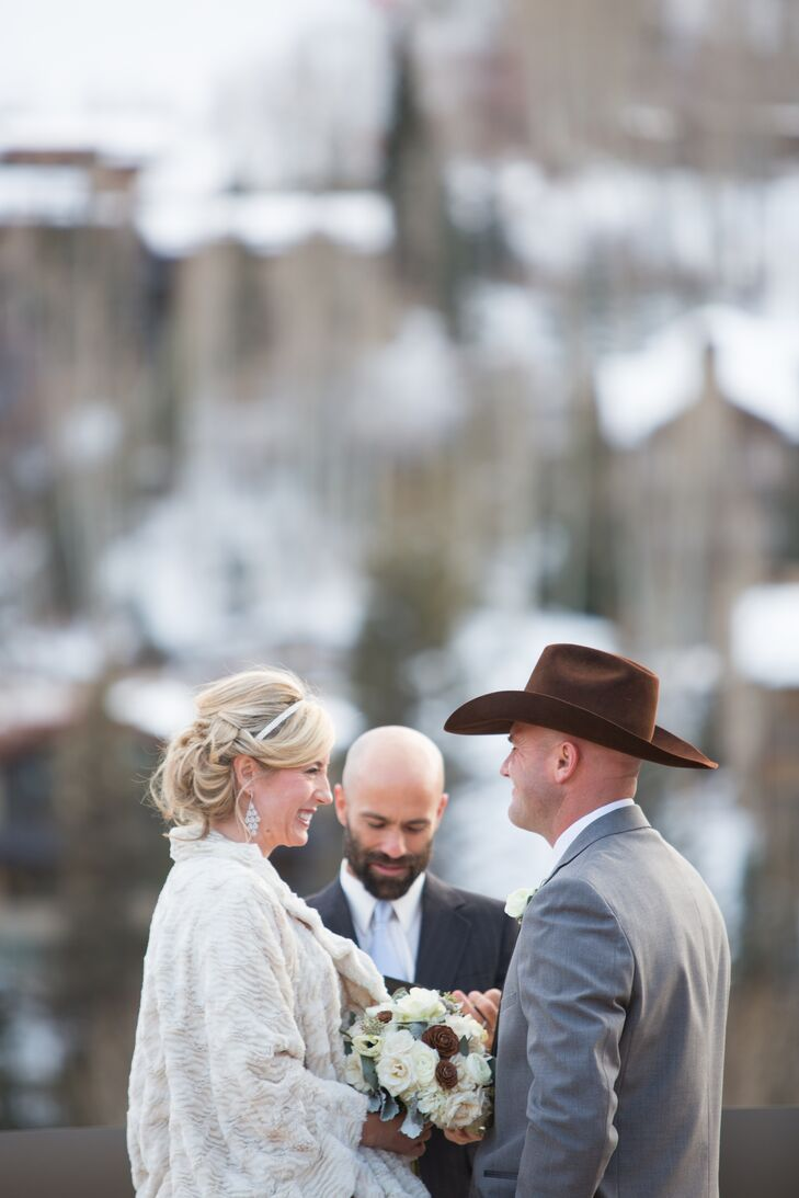 Jennifer and Scott Outdoor Ceremony in Colorado