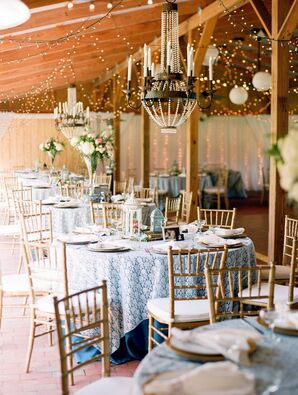 Rustic Elegant Wedding Reception Decor