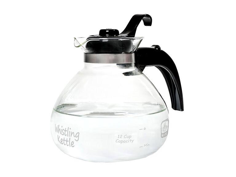 Medelco best glass tea kettle