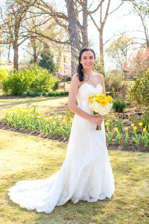Strapless Sweetheart A-Line Wedding Dress