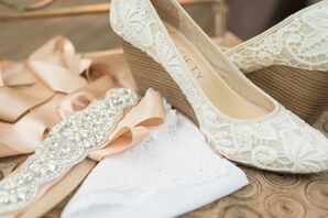 Lace and Beaded Bridal Accessories
