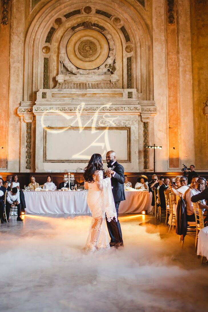 Romantic First Dance at 16th Street Station in Oakland, California