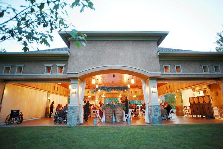 Gervasi Vineyard Pavilion Reception