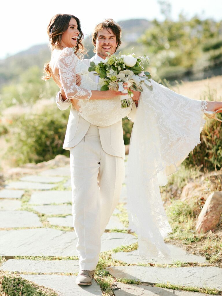 Nikki Reed Wedding Dress