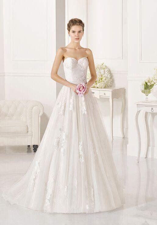 Adriana Alier Zamira A-Line Wedding Dress