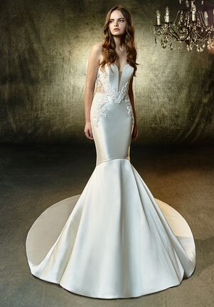 Blue by Enzoani Laken Mermaid Wedding Dress