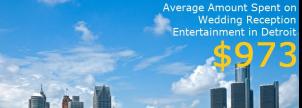 Detroit Wedding Entertainment Costs