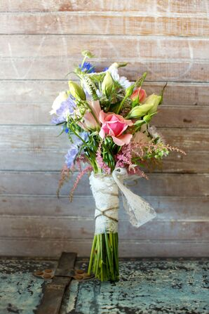 Romantic Bouquet of Locally Grown Flowers