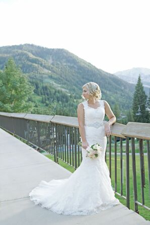 Justin Alexander Mermaid-Style Wedding Dress