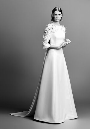 Viktor&Rolf Mariage FLOWER SLEEVE GOWN A-Line Wedding Dress