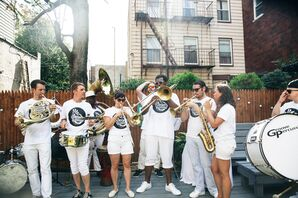 Lively Second Line Band