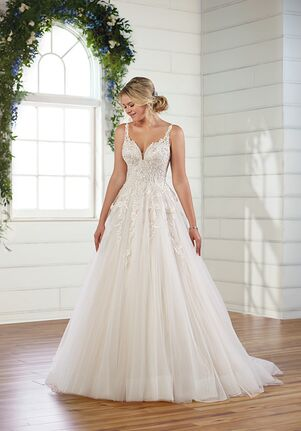 Essense of Australia D3011 Ball Gown Wedding Dress