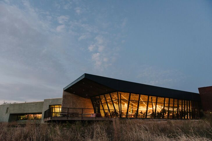 Nighttime Celebration at Trinity River Audubon Center in Dallas, Texas