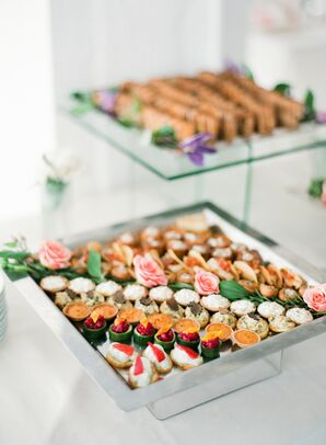 Colorful Canapes