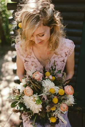 Wild and Messy Wildflower Bouquet