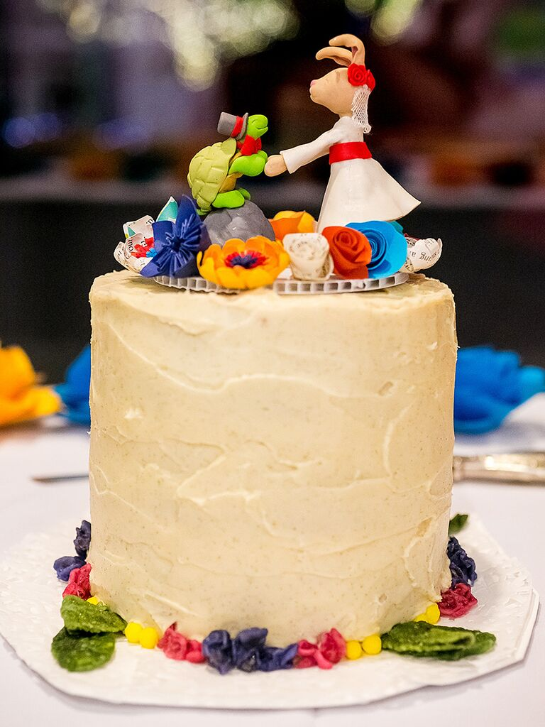 17 ideas for a unique wedding cake topper unique clay wedding cake topper idea junglespirit