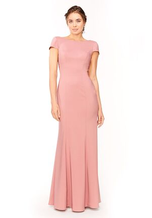Bari Jay Bridesmaids 1953 Bateau Bridesmaid Dress