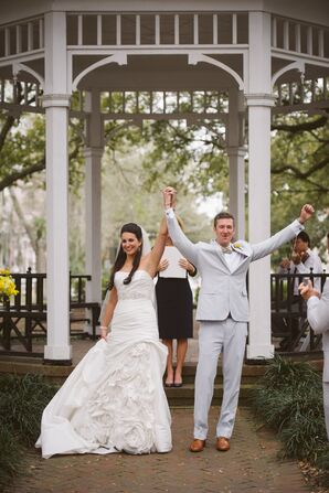 Spring Georgia Wedding Ceremony
