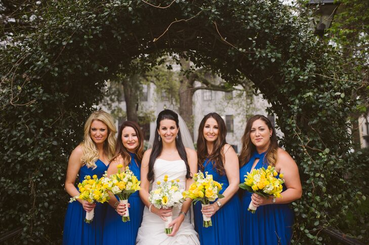Cobalt Blue Bridesmaid Dresses