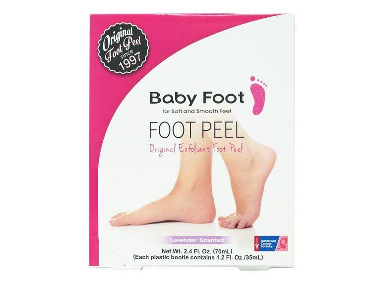 Baby Foot foot peel Pink Ribbon Box