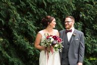 Sarah Nelson (26 and a teacher) and Matthew Nelson (26 and a customer operations specialist) met in high school while working at a movie theater. (The