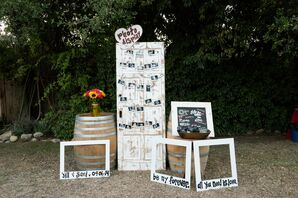 DIY Photo Booth Wood Props