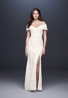 David's Bridal DB Studio Style DB1531 Sheath Wedding Dress
