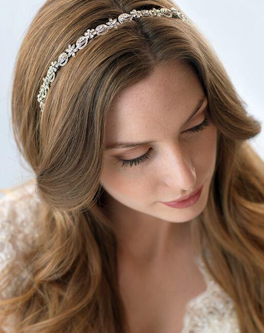 Dareth Colburn Paige Antique Headband (TI-3158) Silver Headband