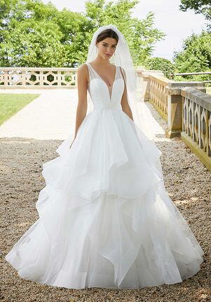 Morilee by Madeline Gardner/Blu Stella 5818 Ball Gown Wedding Dress