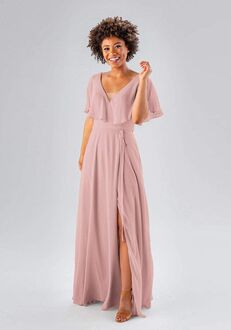 Kennedy Blue Courtney V-Neck Bridesmaid Dress