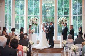 Oversize Window Elegant Ceremony Venue