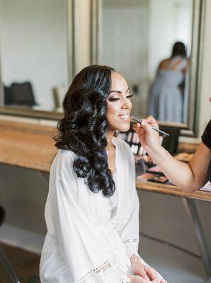 Bridal Makeup at Historic Shady Lane in Manchester, Pennsylvania
