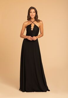 Hayley Paige Occasions 52017 V-Neck Bridesmaid Dress