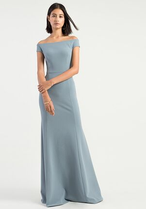 Jenny Yoo Collection (Maids) Larson Off the Shoulder Bridesmaid Dress