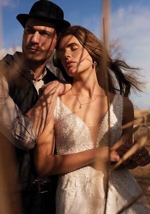Lillian West 66170 A-Line Wedding Dress