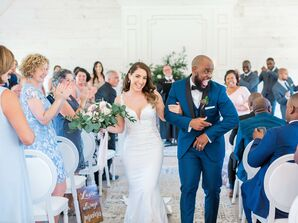 Romantic Recessional at Stonefields Estate in Beckwith, Ontario