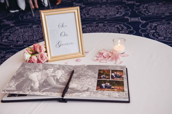 Romantic Photo-Oriented Wedding Guest Book